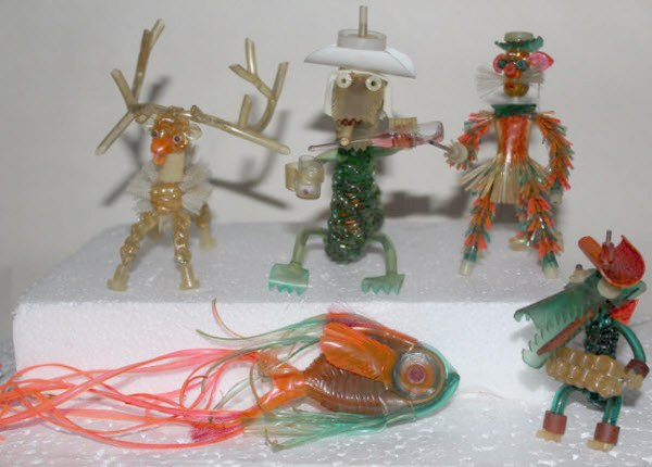 Помните игрушки из капельниц?