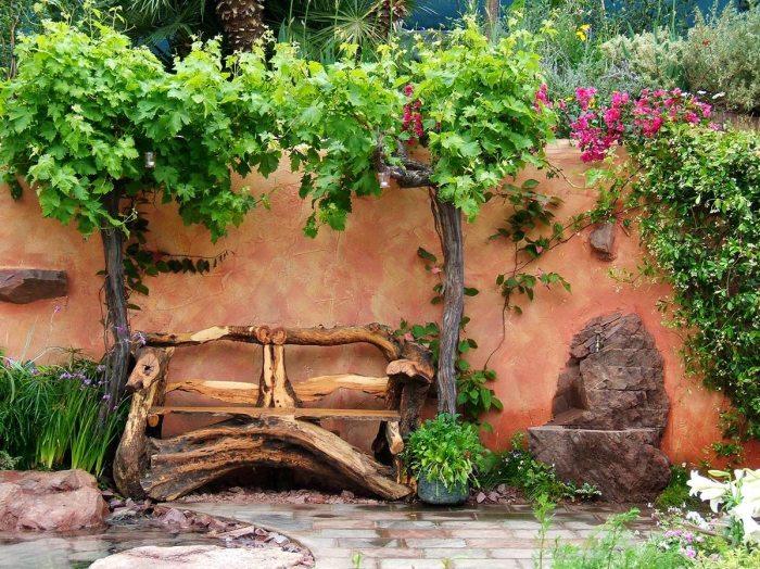 Великолепные скамейки для садового участка, которые станут предметом зависти соседей