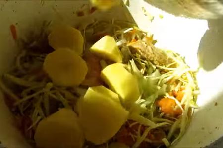 Сразу влюбилась, хотя готовлю первый раз / немецкие штрудли - тесто на кефире: фото шаг 5