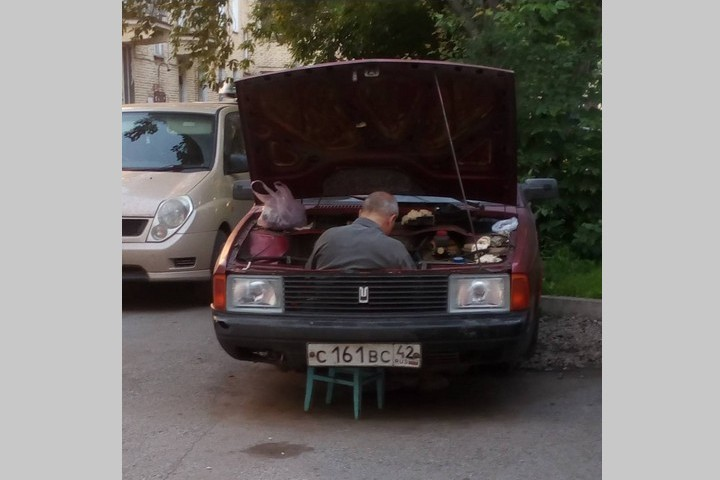Новокузнецкий «автосервис» насмешил интернет-пользователей