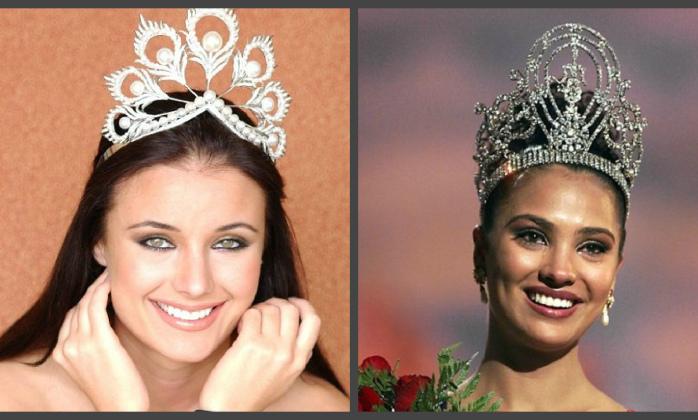 Великолепные короны конкурса «Мисс Вселенная» и их прекрасные обладательницы