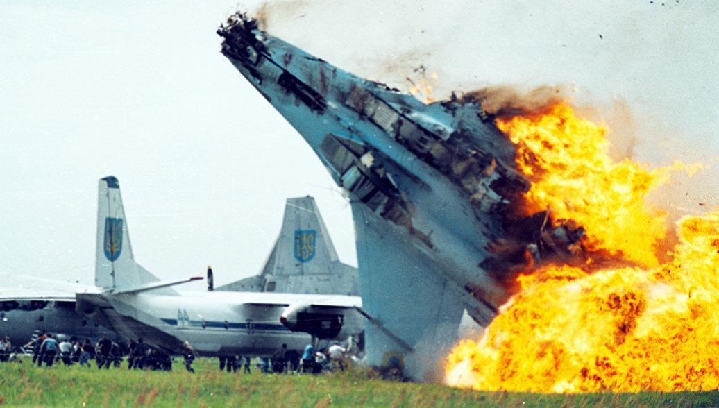 Самолеты ВВС Украины падают …