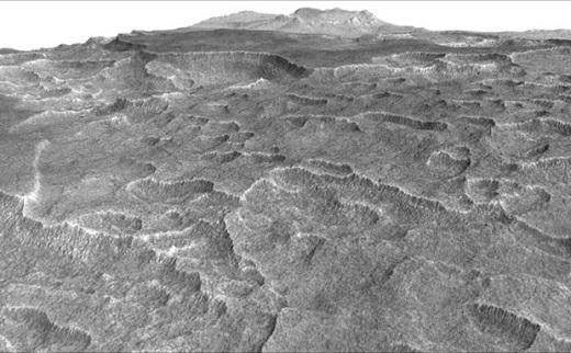 Ученые нашли на Марсе огромное море из замороженной воды