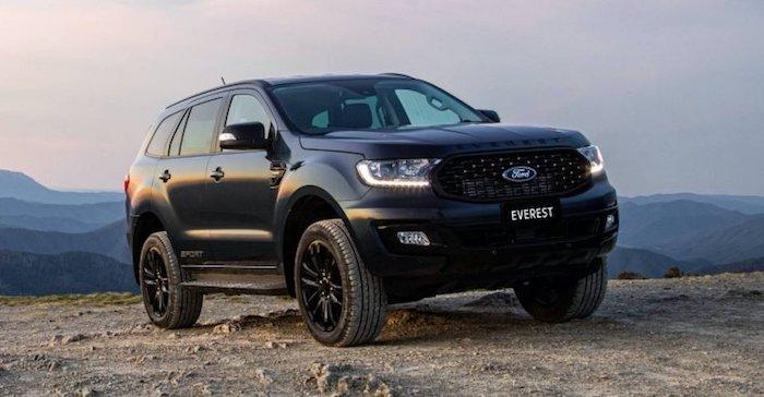 Внедорожник Ford Everest получил «спорт-версию»