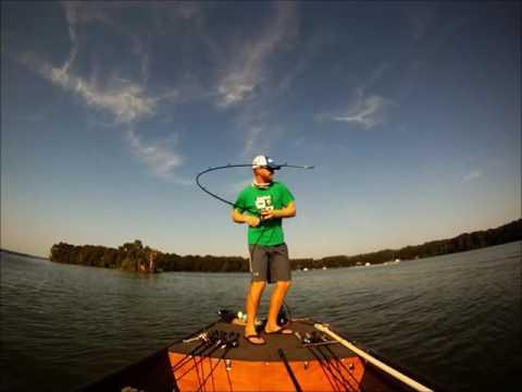 Отличная рыбалка с лодки
