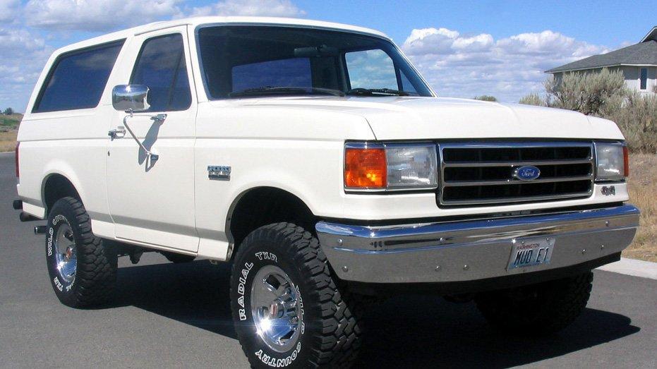 На Аляске была обнаружена коллекция классических Ford Bronco