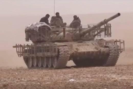 Сирийский «танковый спецназ» снова в бою