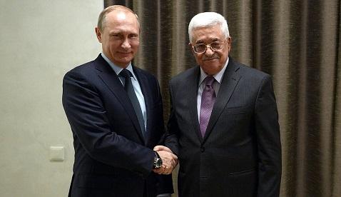 Кремль: встреча Владимира Путина сМахмудом Аббасом планируется вмае