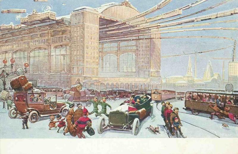 Центральный вокзал. история, открытки, факты