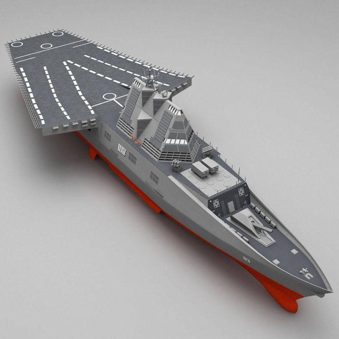 Какими будут боевые корабли через 50 лет
