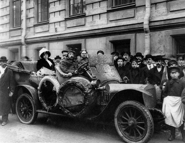 На русском автомобиле 20 000 км  по Африке в 1913 году.