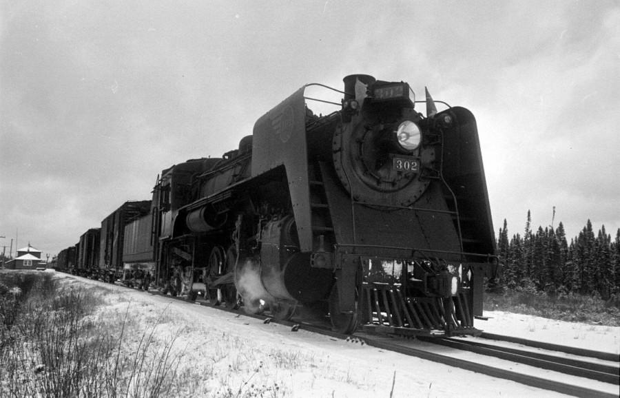 Железная дорога в Онтарио в 1951 году
