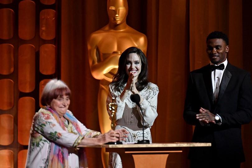 Анджелина Джоли и весь свет Голливуда на премии Governors Awards 2017