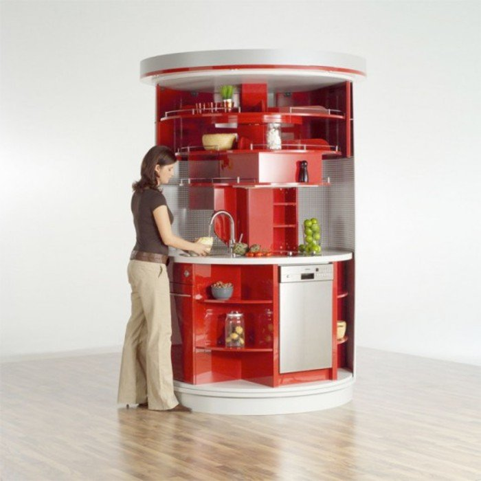 Необычная кухня у себя дома