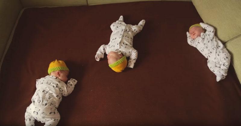Папу оставили дома с малышами, и вот какое развлечение он придумал. Весь Интернет в восторге!