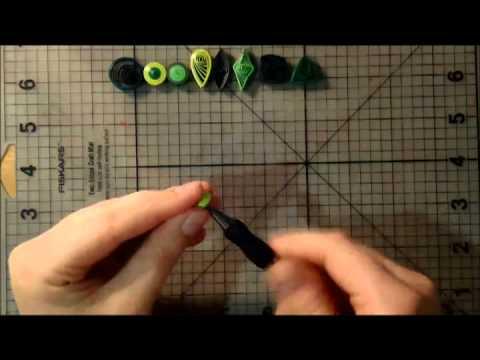 Мастер-класс - Основы квиллинга (Урок 1)