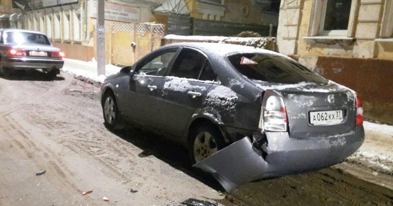 Не очень умный водитель скрылся с места ДТП, оставив улику