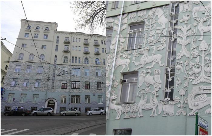 Причудливый декор московских…