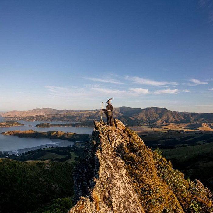 Путешествие Гендальфа по Новой Зеландии