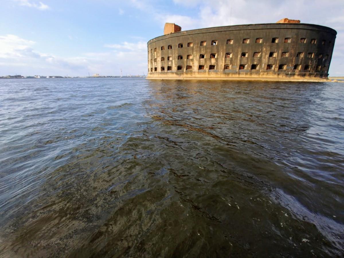 Чумной форт в Финском заливе: круче и брутальнее форта Боярд