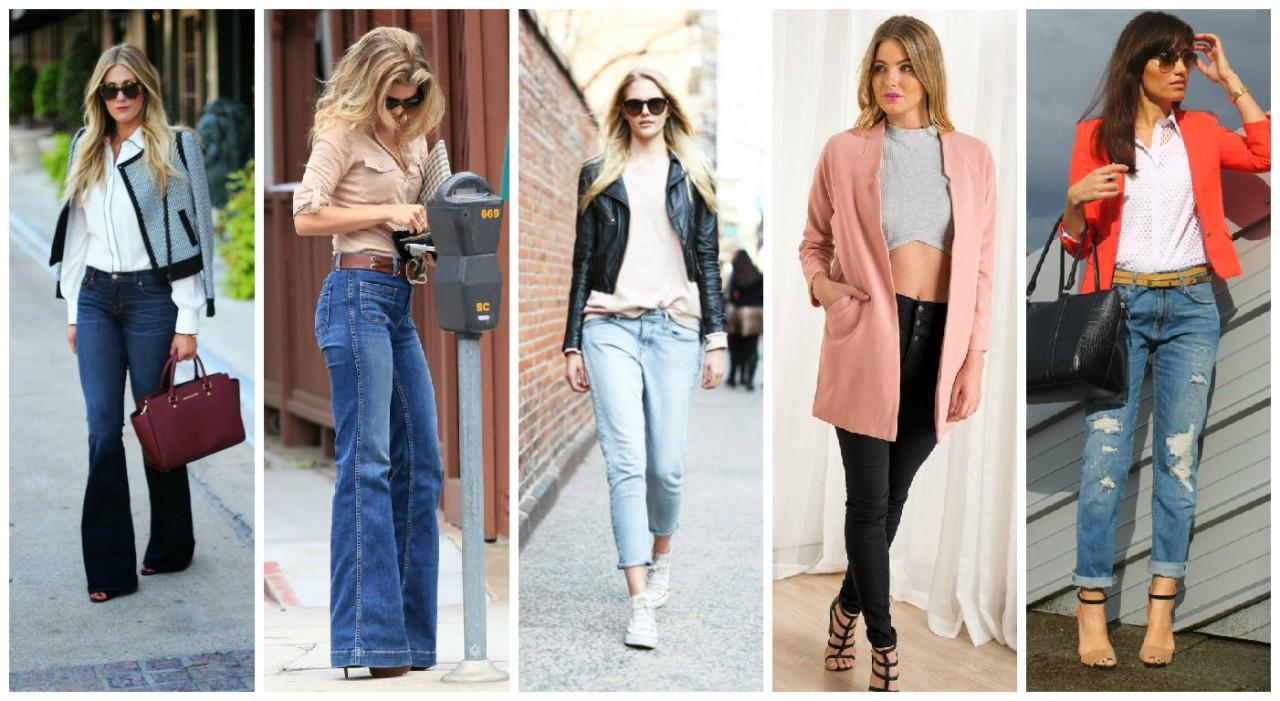 Как выбрать джинсы по фигуре треугольник