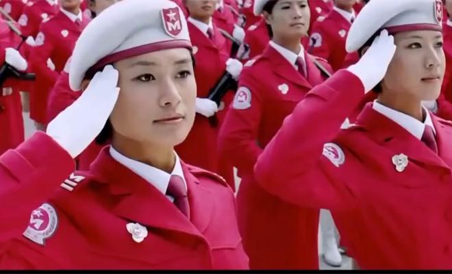 Китайский женский спецназ: сильнее ВДВ