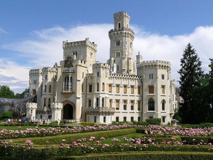 Замок Глубока над Влтавой, Чехия