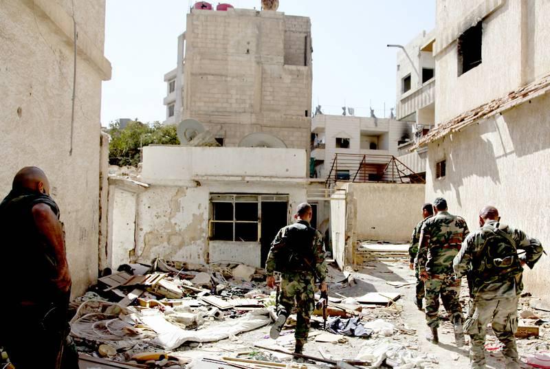 Четверо военнослужащих США погибло при теракте в сирийском Манбиже