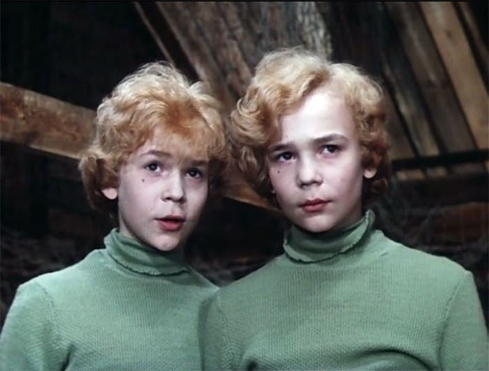 Братья Торсуевы в фильме *Приключения Электроника*, 1979   Фото: biographe.ru