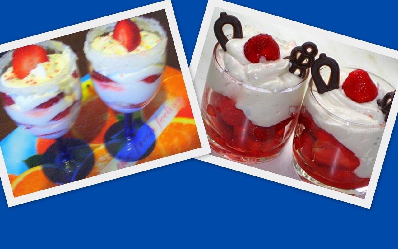Десерт в бокале. Фото-рецепт. Olga Dell