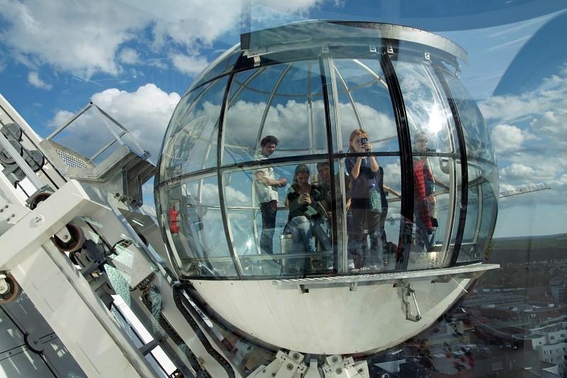 9. Globen Skyview, Стокгольм история, лифт, мир, необычно, путешествия, факты