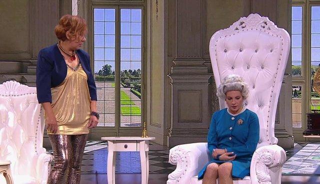Comedy Woman: На приеме у английской королевы