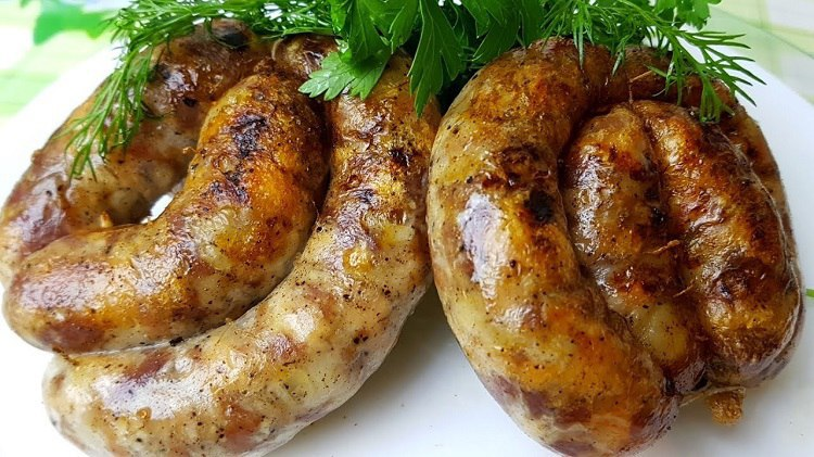 Украинская запеченная колбаса