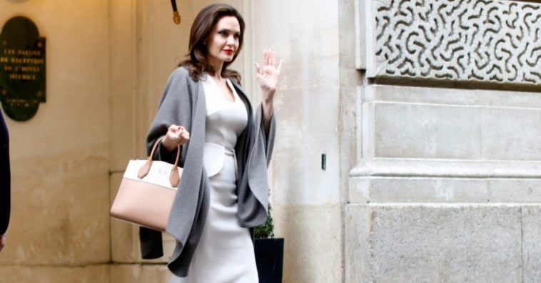 15 стильных повседневных образов Анджелины Джоли