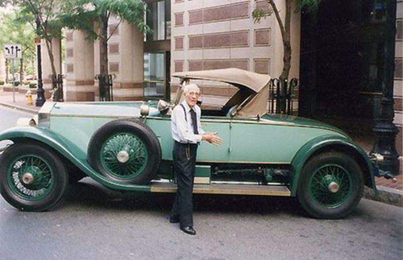 Аллен Свифт — человек, который 78 лет ездил на одном и том же Rolls-Royce