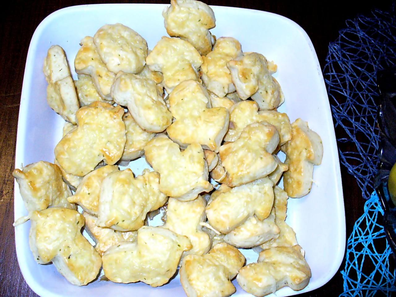 """Печенье творожное """" грибочки """"( солённое ). Фото-рецепт. Olga Dell"""