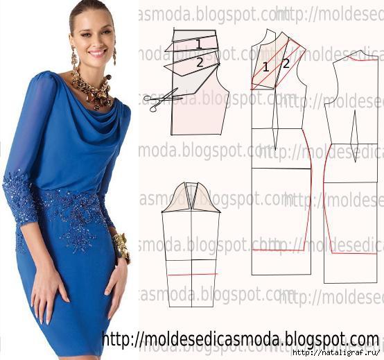 Как сшить просто и элегантное платье
