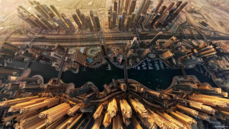 Города мира с высоты: карты из улиц и домов, которые восхитят своим видом (что не увидишь в обычном путешествии)