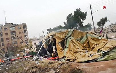 Боевики обстреляли западные районы Алеппо