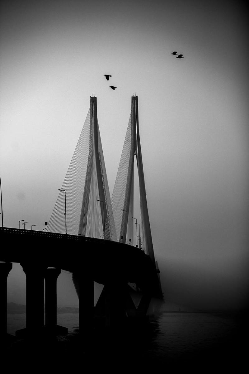 Мост Банда-Уорли, Мумбаи, Индия индия, красота, талант, творчество, фото, фотограф, фотография, художник