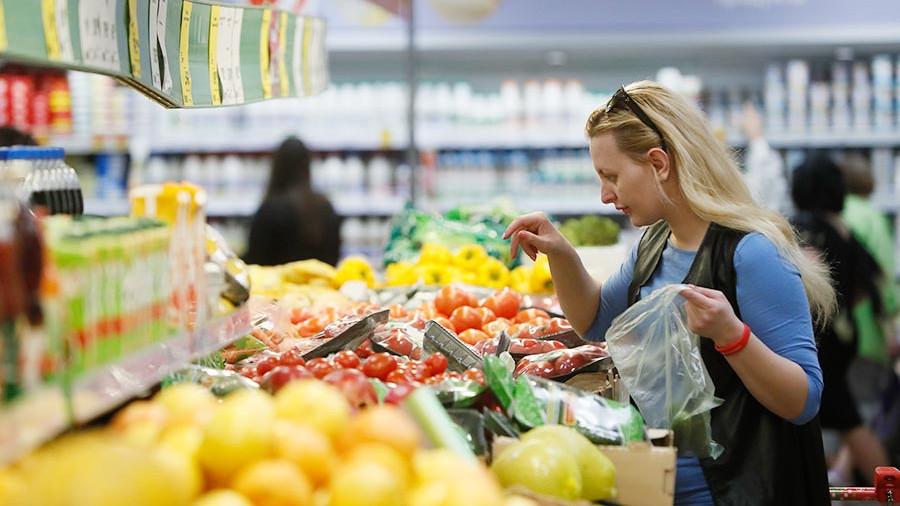 Овощи и фрукты в России в сентябре подешевеют в пять раз