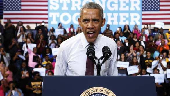 Обама занял первое место в р…