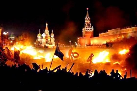 Сценарии цветной революции в России