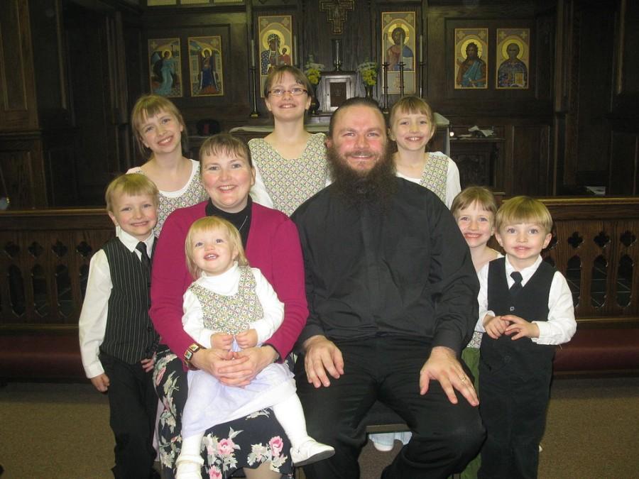 Американский священник переехал с семьей в Россию