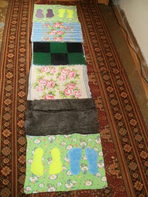 Самодельный коврик здоровья