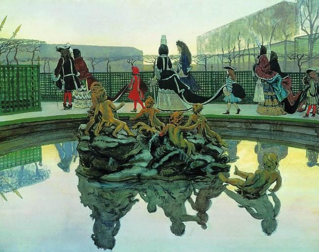 """""""Я упоен этим местом..""""  - акварельные изыски на тему """"божественного Версаля"""" художника Александра Бенуа"""