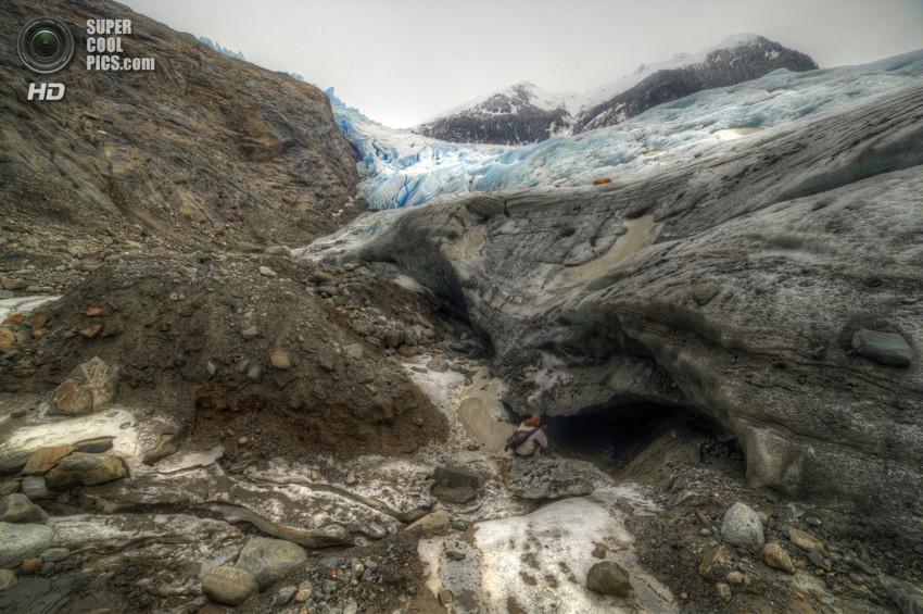 Путешествие под лёд Аляски фото, аляска
