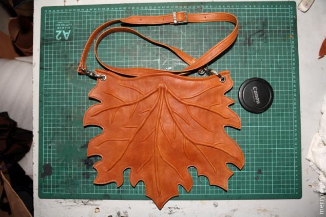 Как сшить сумку из натуральной кожи