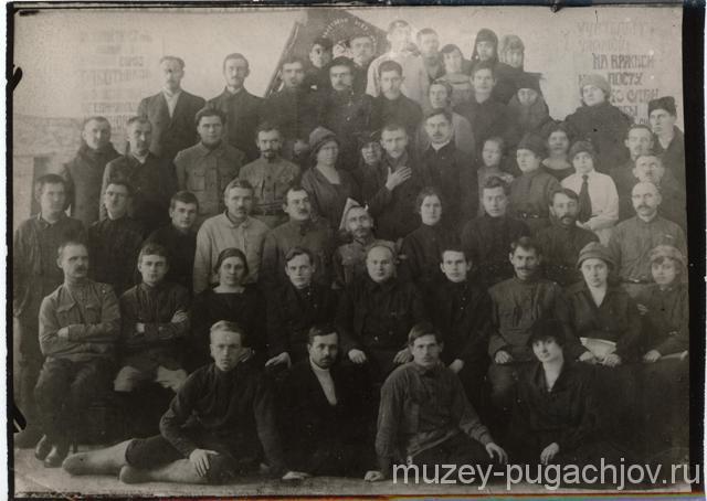 Подвиг работников образования Пугачевского уезда