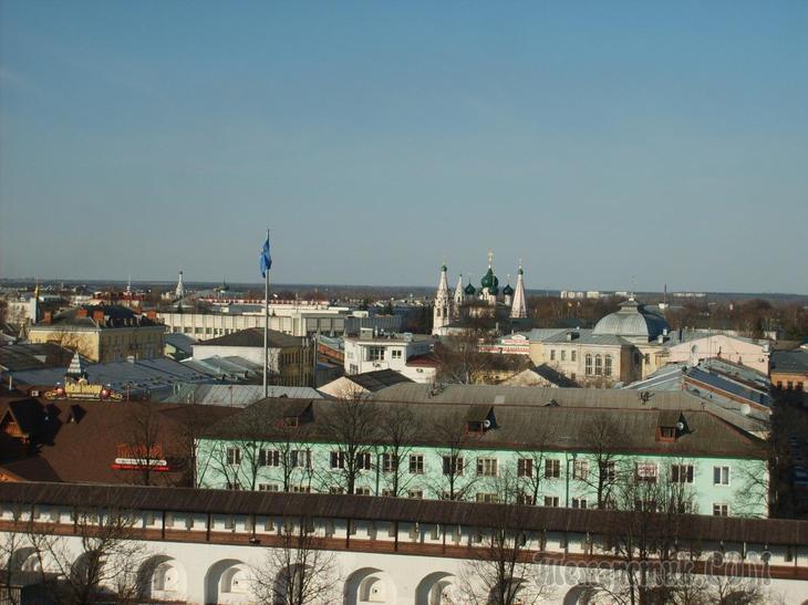 Первый опыт автотуризма. Прогулка по Ярославлю. День первый